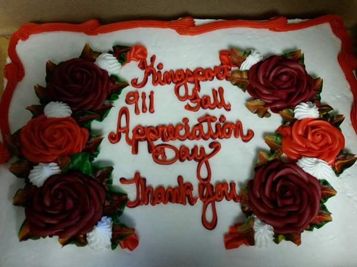 Kingsport 911 Fall appreciation day